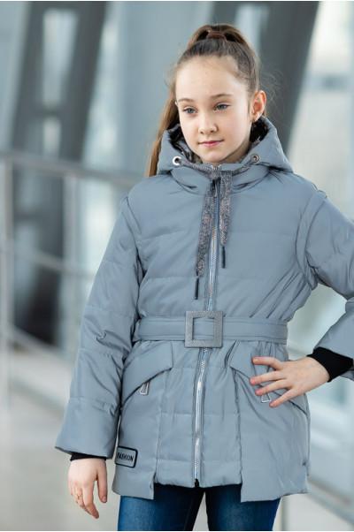 Куртка СЭНДИ демисезонная (голубой)
