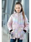 8939-1 Куртка РАДУГА демисезонная(розовый)