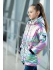 8939 Куртка РАДУГА демисезонная(сиреневый)