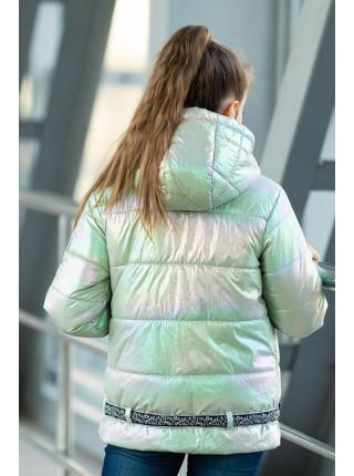 Куртка ДЖЕЛИ демисезонная (салатный)