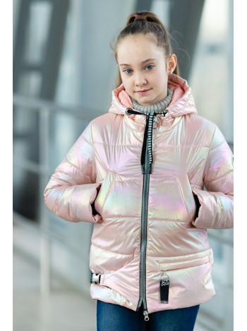 8941 Куртка ДЖЕЛИ демисезонная(розовый)