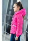 8942-1 Куртка БРИТНИ демисезонная(малиновый)
