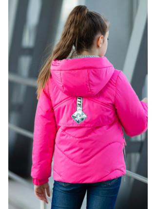 Куртка БРИТНИ демисезонная (малиновый)