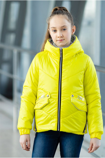 Куртка БРИТНИ демисезонная (желтый)