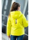 8942-2 Куртка БРИТНИ демисезонная(желтый)