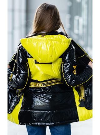 Куртка КИАРА демисезонная (черный)