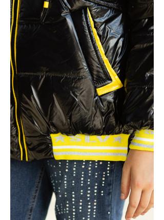 Куртка МОНАКО демисезонная (черный/желтый)