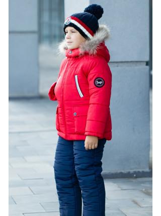Комплект ЖОРЖ зимний (красный)