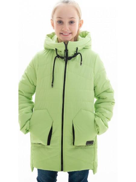 Куртка Патриция демисезонная д/дев (салат)