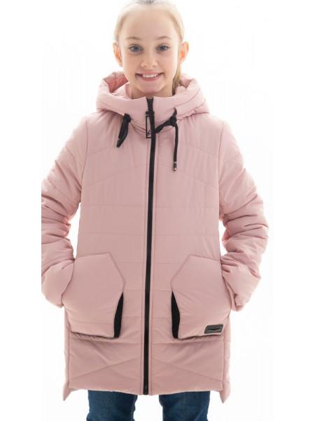 Куртка Патриция демисезонная д/дев (пудра)