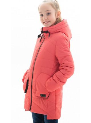 Куртка Патриция демисезонная д/дев (коралл)