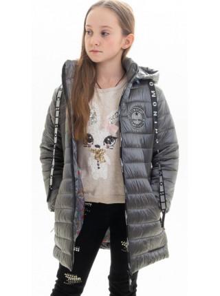 Куртка Свити демисезонная д/дев (графит)