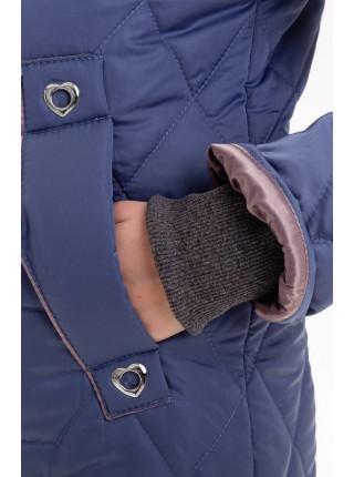 Куртка-жилет Фара демисезонная д/дев. (васильковый)