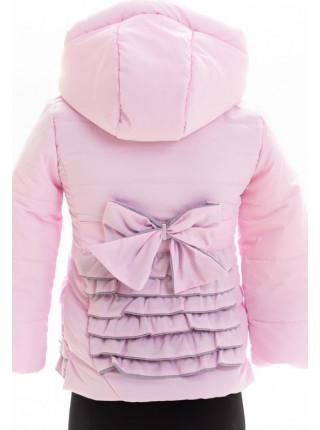 Куртка Акулина демисезонная д/дев (розовый)