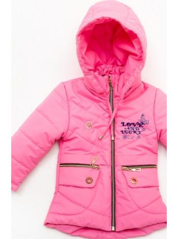 Куртка Бабетта демисезонная д/дев (розовый)