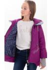 Куртка Бланш демисезонная д/дев (фиолетовый)