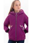 куртка демисезонная Гала цвет фиолетовый