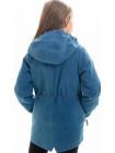 Куртка Кори демисезонная д/дев (джинс светлый)