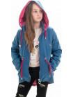 Куртка Кори демисезонная д/дев (джинс голубой)