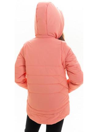 Куртка Мина демисезонная д/дев (персик)
