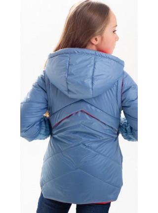 Куртка Нора демисезонная д/дев (голубой)