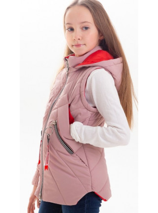 Куртка Нора демисезонная д/дев (пудра)
