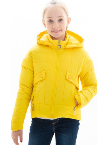 Куртка Алди демисезонная д/дев (желтый)