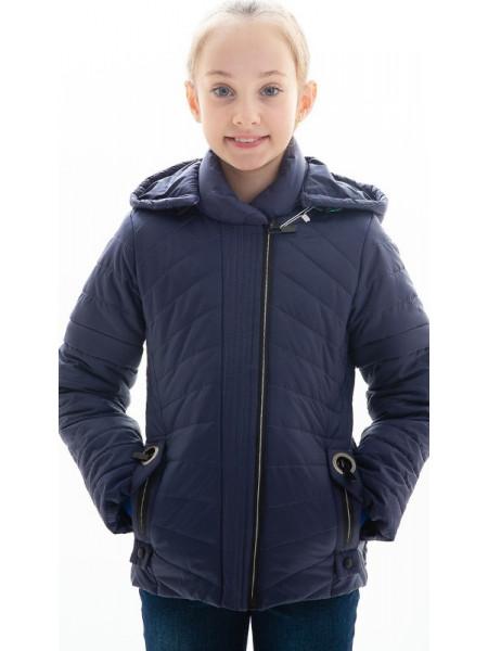 Куртка Лиззи демисезонная д/дев (синий)