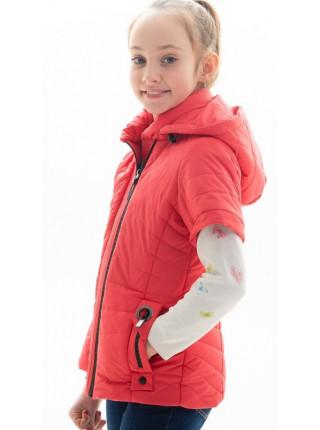 Куртка Лиззи демисезонная д/дев (коралл)