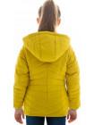 Куртка Лиззи демисезонная д/дев (горчичный)