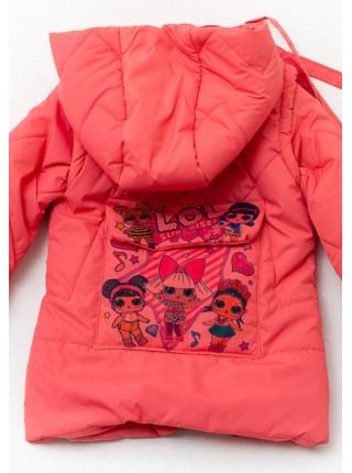 Куртка Леля демисезонная д/дев (коралл)