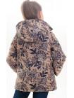 Куртка Минди демисезонная д/дев (беж/рисунок)