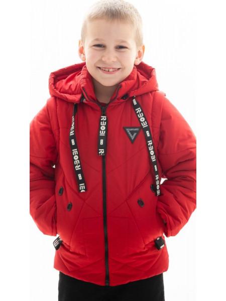 Куртка Диллон демисезонная д/мал (красный)