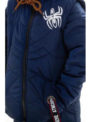 Куртка-жилет Пайпер демисезонная д/мал (т.синий)