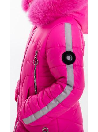 Куртка ИВАННА зимняя (малина)
