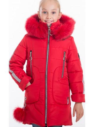 Куртка ИВАННА зимняя (красный)