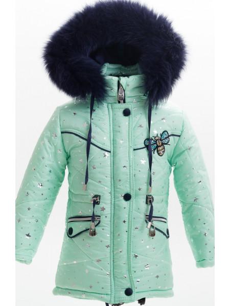 Зимняя куртка ВЕСЕЛИНА д/дев(мята)