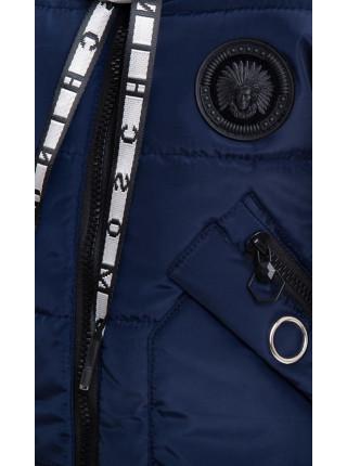 Зимняя куртка МАНУЭЛА д/дев. (т.синий)
