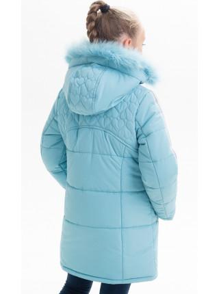 Зимняя куртка ПЕННИ д/дев(голубой)