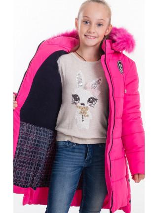 Зимняя куртка ЕВАНГЕЛИНА д/дев(малина)