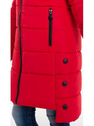 Зимняя куртка ЕВАНГЕЛИНА д/дев(красный)