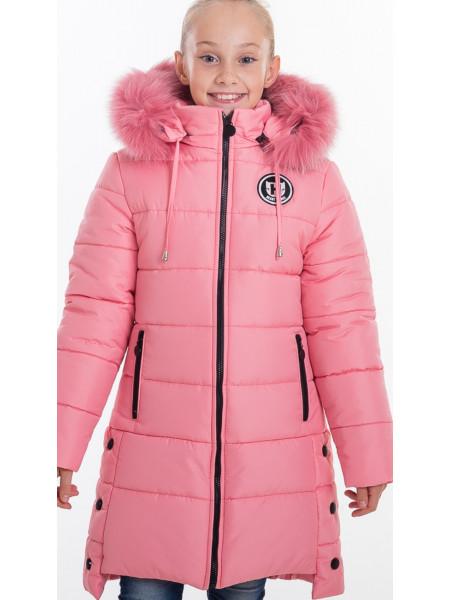 Зимняя куртка ЕВАНГЕЛИНА д/дев(розовый)