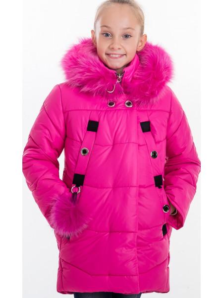 Зимняя куртка РЕГИНА д/дев(малина)