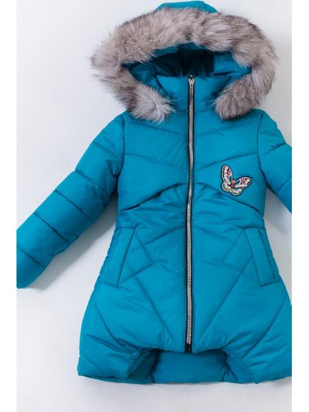 Зимняя куртка МИЯ д/дев. (морская волна)