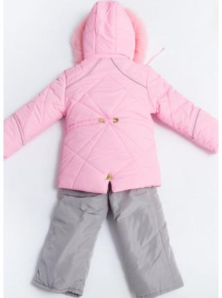 Комплект МЕЛАНИЯ зимний (розовый)