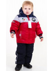 Куртка зимняя д/мальч. РУСЛАН (красный+синий+серый)