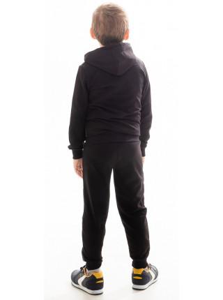 Детский спорт. костюм РАИС д/мальч (черный+серый)