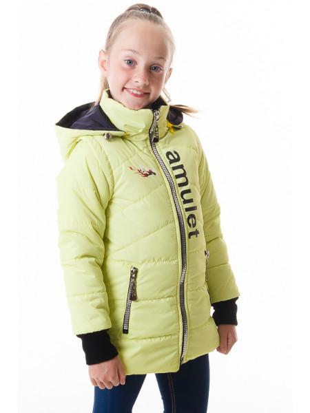 Куртка-жилет Элия демисезонная (салатовый)