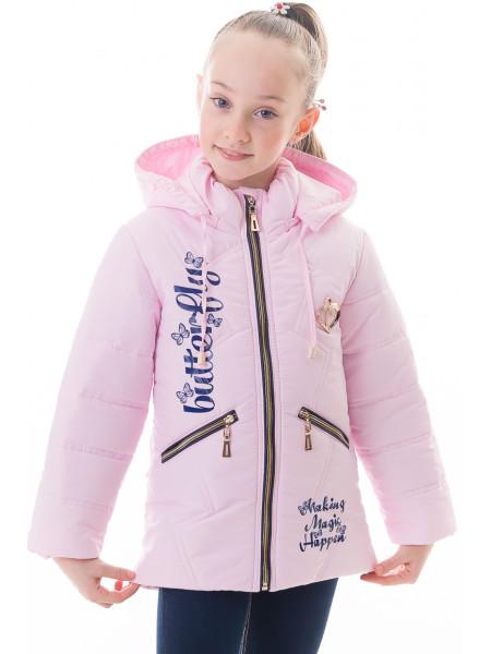 Куртка Бабочка демисезонная (розовый)