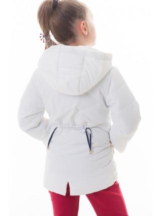 Куртка Бабочка демисезонная (белый)